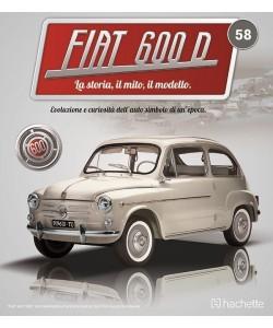 Costruisci la mitica FIAT 600 uscita 58