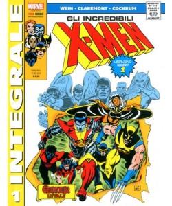 X-Men Di Chris Claremont - N° 1 - X-Men Di Chris Claremont - Marvel Integrale Panini Comics