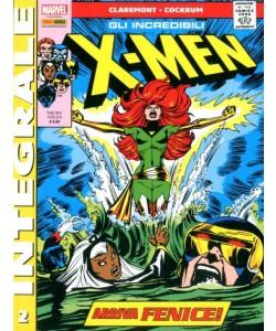 X-Men Di Chris Claremont - N° 2 - Gli Incredibili X-Men - Marvel Integrale Panini Comics