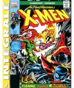 X-Men Di Chris Claremont - N° 3 - Gli Incredibili X-Men - Marvel Integrale Panini Comics
