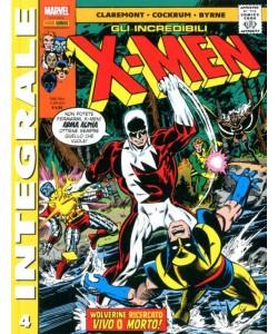 X-Men Di Chris Claremont - N° 4 - Gli Incredibili X-Men - Marvel Integrale Panini Comics