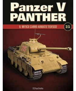 Costruisci il leggendario Panzer V Panther uscita 25