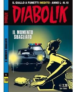 Diabolik Anno 50 - N° 10 - Il Momento Sbagliato - Diabolik 2011 Astorina Srl