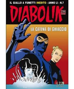 Diabolik Anno 51 - N° 7 - La Catena Di Ghiaccio - Diabolik 2012 Astorina Srl