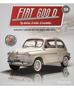 Costruisci la mitica FIAT 600 uscita 59