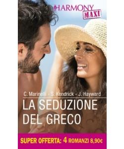 Harmony MAXI - La seduzione del greco Di Carol Marinelli, Sharon Kendrick, Jennifer Hayward