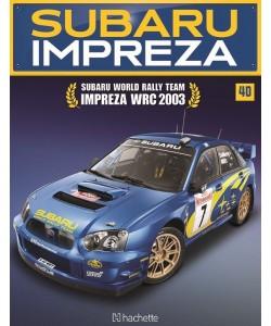 Costruisci la Subaru Impreza WRC 2003 uscita 40