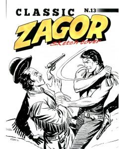 Bonelli Copertine Variant - N° 70 - Zagor Classic 13 - I Rinnegati - Sketch Cover - Bonelli Editore