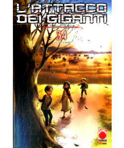 Attacco Dei Giganti - N° 34 - Generation Manga 34 - Panini Comics