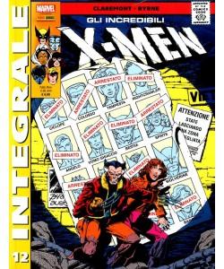 X-Men Di Chris Claremont - N° 12 - Gli Incredibili X-Men - Marvel Integrale Panini Comics