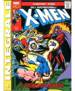X-Men Di Chris Claremont - N° 5 - Gli Incredibili X-Men - Marvel Integrale Panini Comics