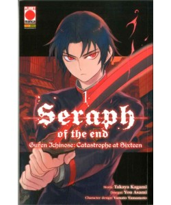 Seraph Of The End Guren... - N° 1 - Guren Ichinose: Catastrophe At Sixteen - Arashi Panini Comics