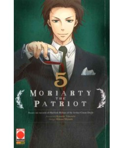 Moriarty The Patriot - N° 5 - Manga Storie Nuova Serie 79 - Manga Storie Nuova Serie Panini Comics