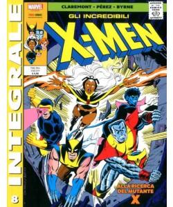 X-Men Di Chris Claremont - N° 8 - Gli Incredibili X-Men 8 - Marvel Integrale Panini Comics