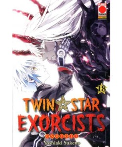 Twin Star Exorcists - N° 18 - Manga Rock 25 - Panini Comics