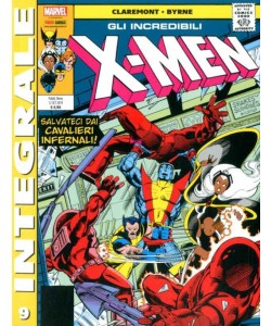 X-Men Di Chris Claremont - N° 9 - Gli Incredibili X-Men 9 - Marvel Integrale Panini Comics