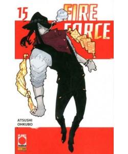 Fire Force - N° 15 - Manga Sun 126 - Panini Comics