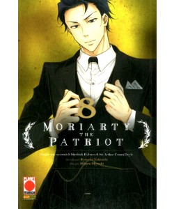 Moriarty The Patriot - N° 8 - Manga Storie Nuova Serie 82 - Panini Comics