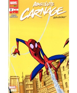 Marvel Miniserie #228 Cover B - Absolute Carnage 2 - Cover B Di Zerocalcare - Panini Comics