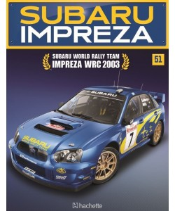 Costruisci la Subaru Impreza WRC 2003 uscita 51