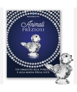 Animali preziosi di cristallo ottico