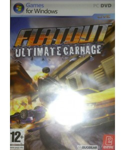 Flatout - Ultimate Carnage  - PC DVD (Racing Game)