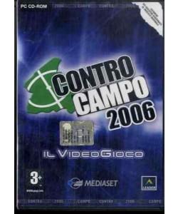 CONTRO CAMPO 2006 - IL VIDEOGIOCO - CD Gioco PC