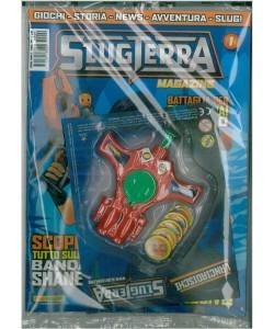 SLUGTERRA Magazine con Lanciadischi SLUG