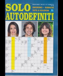 Solo Autodefiniti - n. 272 - mensile - dicembre 2018 -