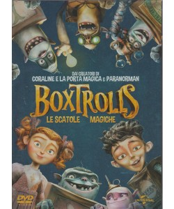 Boxtrolls - Le Scatole Magiche (DVD Video)