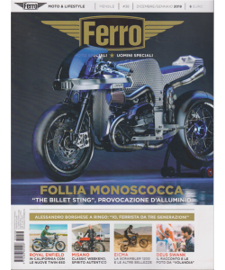 Ferro  - n. 38 - mensile - dicembre - gennaio 2019