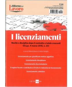 """I LICENZIAMENTI - gruppo 24 Ore """"Le riforme del Lavoro"""""""