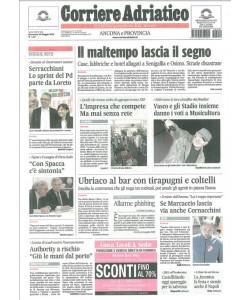 CORRIERE ADRIATICO Ancona e provincia - Domenica 24 Maggio 2015