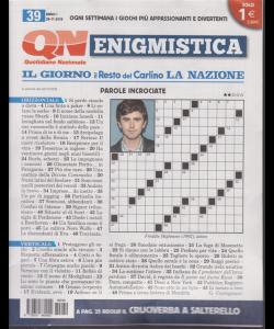 Enigmistica - n. 39 - 26- 11 -2018 -  settimanale