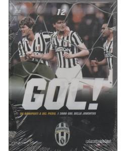 DVD Gol Juventus - Da Boniperti a Del Piero i 3000 Gol della Juventus - DVD n.12