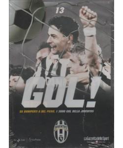 DVD Gol Juventus - Da Boniperti a Del Piero i 3000 Gol della Juventus - DVD n.13