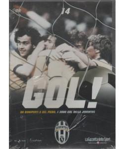 DVD Gol Juventus - Da Boniperti a Del Piero i 3000 Gol della Juventus - DVD n.14
