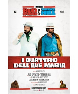 BUD SPENCER E TERENCE HILL - I QUATTRO DELL'AVE MARIA - FILM DVD