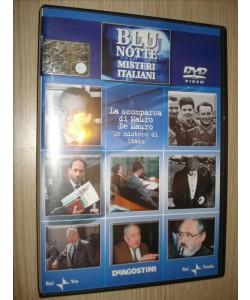 BLU NOTTE MISTERI ITALIANI  - LA SCOMPARSA DI MAURO DE MAURO MISTERO STATO - DVD N.8
