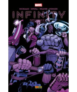 Marvel Miniserie - N° 149 - Infinity 5 - Cover Gemma - Infinity Marvel Italia