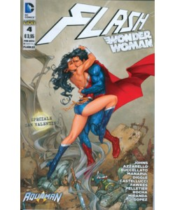 Flash/Wonder Woman - N° 4 - Cover Wonder Woman - Flash Rw Lion