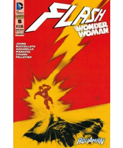 Flash/Wonder Woman - N° 5 - Cover Flash - Flash Rw Lion