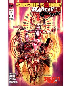 Suicide Squad/Harley Quinn - N° 21 - Suicide Squad/Harley Quinn - Rw Lion