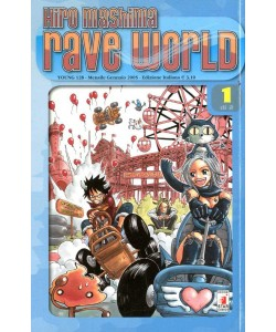 Rave World - N° 1 - Rave World 1 - Young Star Comics