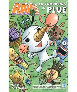 Rave World - N° 3 - La Compagnia Di Plue 1 - Young Star Comics