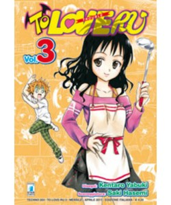 To Love Ru - N° 3 - To Love Ru 3 (M18) - Techno Star Comics