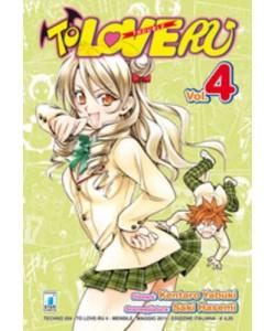 To Love Ru - N° 4 - To Love Ru 4 (M18) - Techno Star Comics