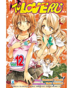 To Love Ru - N° 12 - To Love Ru 12 (M18) - Techno Star Comics
