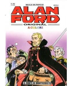 Alan Ford - N° 585 - Il Conte Di Montecristo In Color - Alan Ford Original 1000 Volte Meglio Publishing