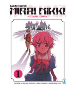 Mirai Nikki - N° 1 - Future Diary 1 (M12) - Point Break Star Comics